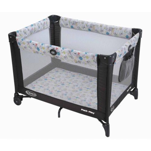 Graco Foldable Travel Cot Infant Portable Playard Crib