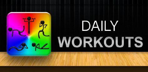 L'applicazione gratuita di oggi è Esercizi Giornalieri per Android: ecco un personal trailer tutto per te! Daily Workouts suggerisce da 5 a 30 minuti di esercizi