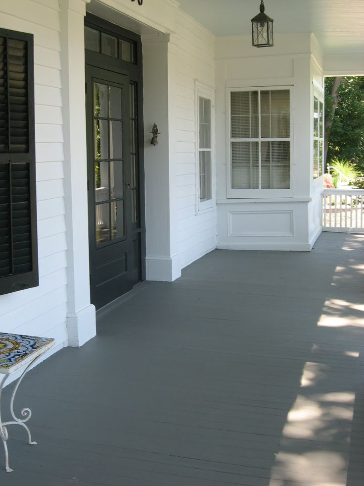Best 25 porch paint ideas on pinterest painted porch What is the best exterior paint for decks