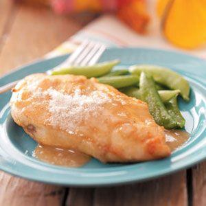 Chicken in White Wine Sauce Recipe  Taste of Home Recipe