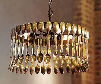 Spool Chandelier - Home Decorating & Design Forum - GardenWeb