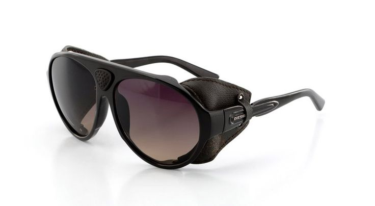Diesel Bad Max sunglasses leather