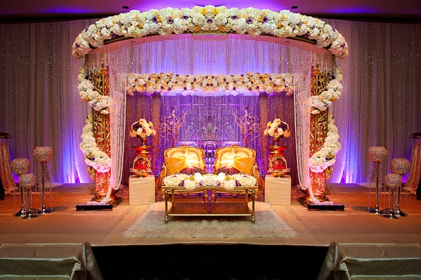 wedding inspiration indian mandaps beautiful receptions and - Indian Wedding Decorations