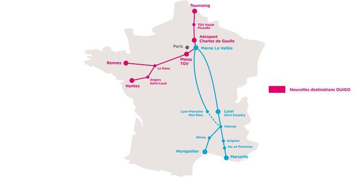 Billets de train pas cher SNCF - TGV low cost – OUIGO