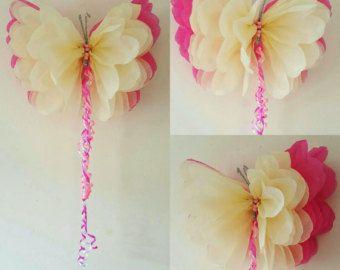 1 parete fiore 1 farfalla ragazze compleanno festa decorazioni