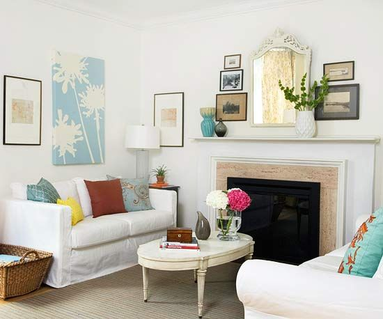Creative Ideas For Your Mantel. Decorating Fireplace ...