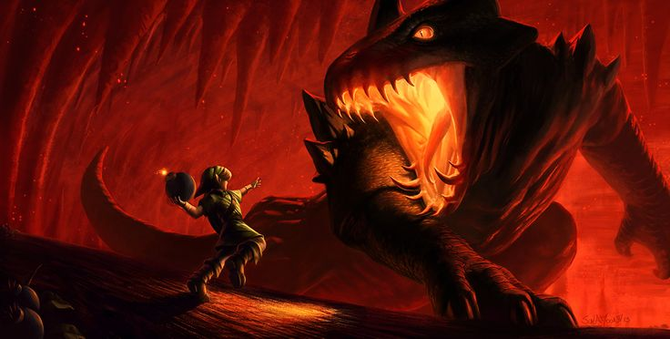 Infernal Dinosaur: King Dodongo by SulaMoon.deviantart.com on @deviantART
