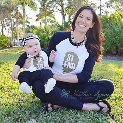 $8.46// Mom + Baby Best Friend Baseball T shirt// Delivery: 2-4 weeks