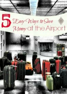 Travel can be expensive by the time you figure in air fare, hotel, etc. The good news? There are still ways that you can save money at the airport! Read on!