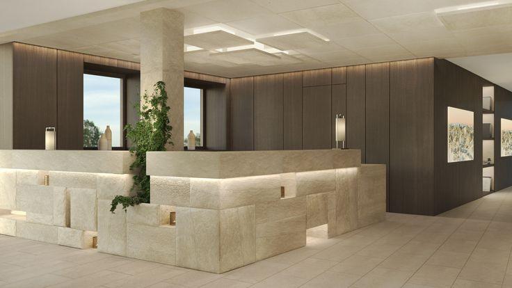 Die besten 25 b ro empfangsbereich ideen auf pinterest for Familienhotel design