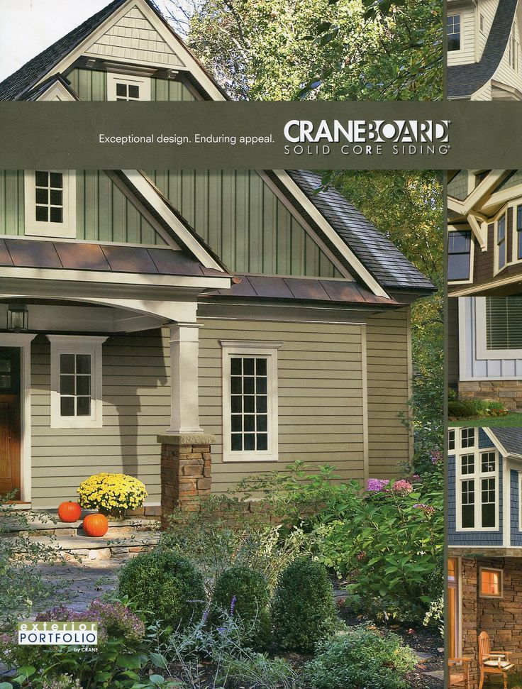 56 best images about houses with green siding on pinterest for Exterior vinyl siding