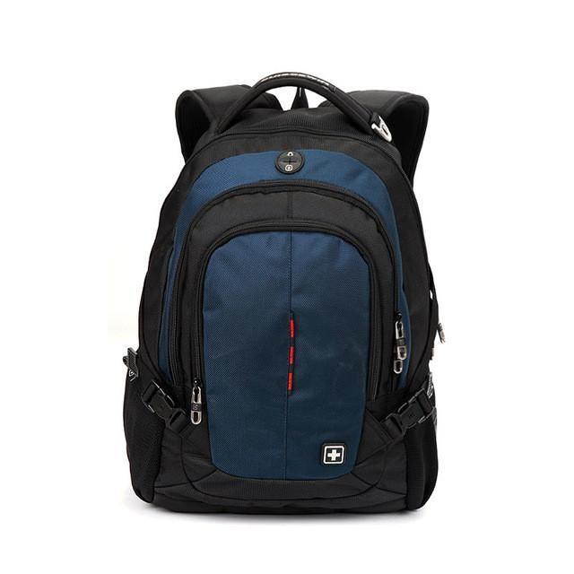 Suissewin brand fashion school backpack swissgear waterproof 15.6 laptop backpack quality casual men daypack male mochila