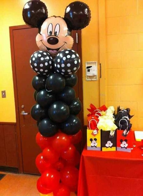 Mickey Mouse Birthday Party Ideas 1 Year Old