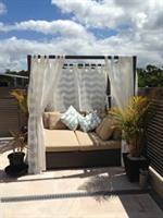 Outdoor Furniture - Sun Lounge - Folding - Stackable - Deck Chair - Timber - Satara Australia