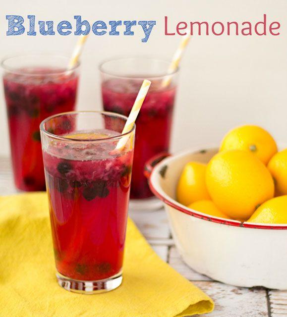 Blueberry Lemonade Recipe from @the BearFoot Baker (Lisa)