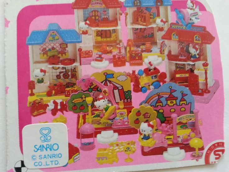 13 best images about sanrio on pinterest cottages - Lego hello kitty maison ...