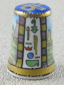 Ägypten & Pharao mit dem Motiv Tempel Karnak in Theben por detras
