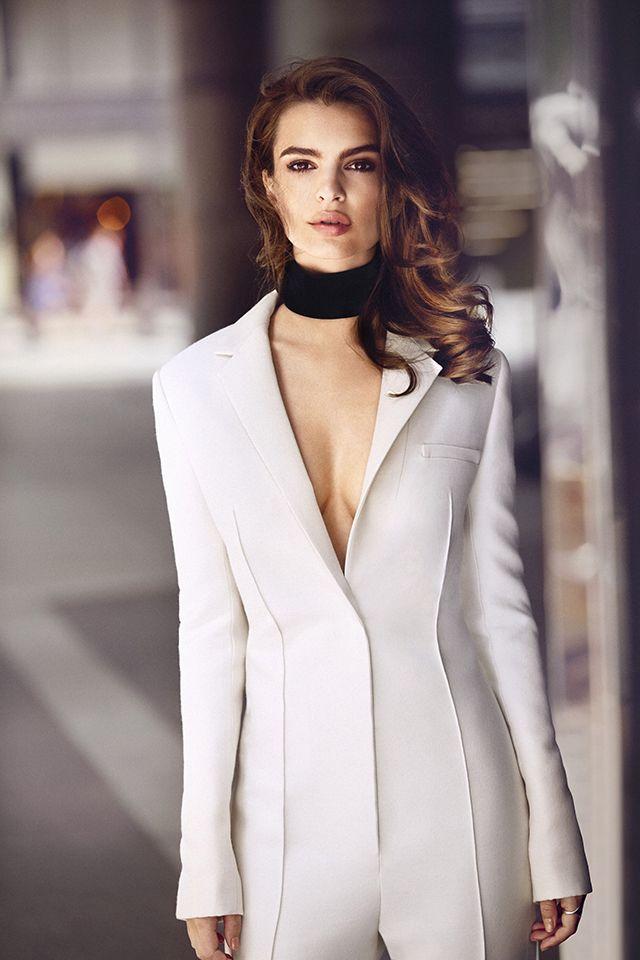 Emily Ratajkowski For Harper's Bazaar Is Seriously Stunning