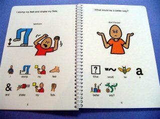 Autismo historia Social mi libro de Funk PECS por TheAutismShop