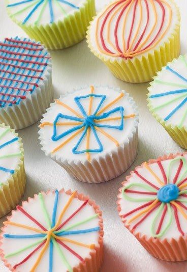 Glassa cupcake, tipi glasse cupcake