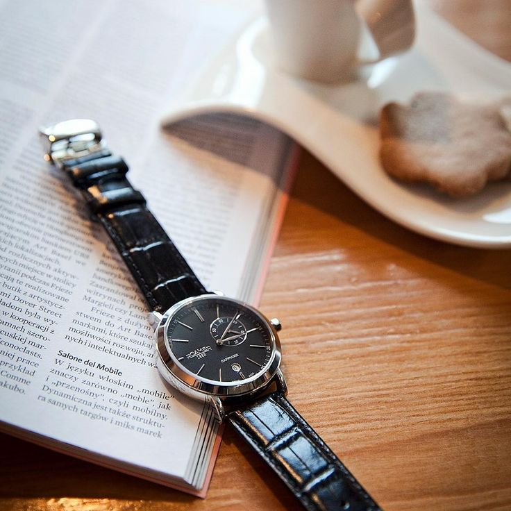 Na spotkaniu z #Roamer. #watch #zegarek #leather #black #meeting #classy #style #men