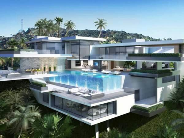 Mansion Houses With Pools 178 best houses - modern images on pinterest | architecture