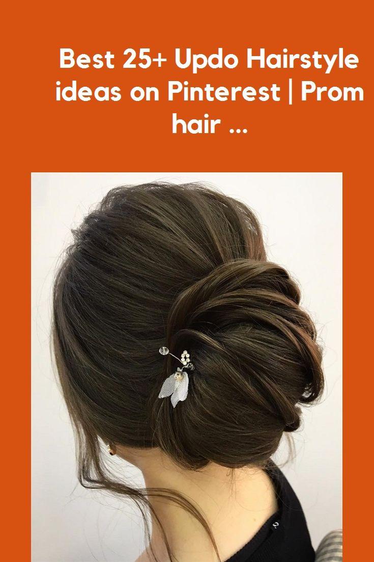 Besten 17+ Updo Hairstyle-Ideen auf Pinterest | Abschlussballhaar ... #nail art #outfits #hochzeitsfrisuren #makeup #hochzeitsdekor
