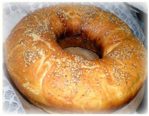 Ciambella di grano duro (in pentola fornetto)