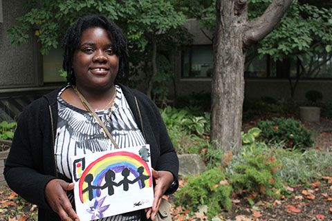 New day, new promise: Teresa Williams and other CAMH patients find hope in art.