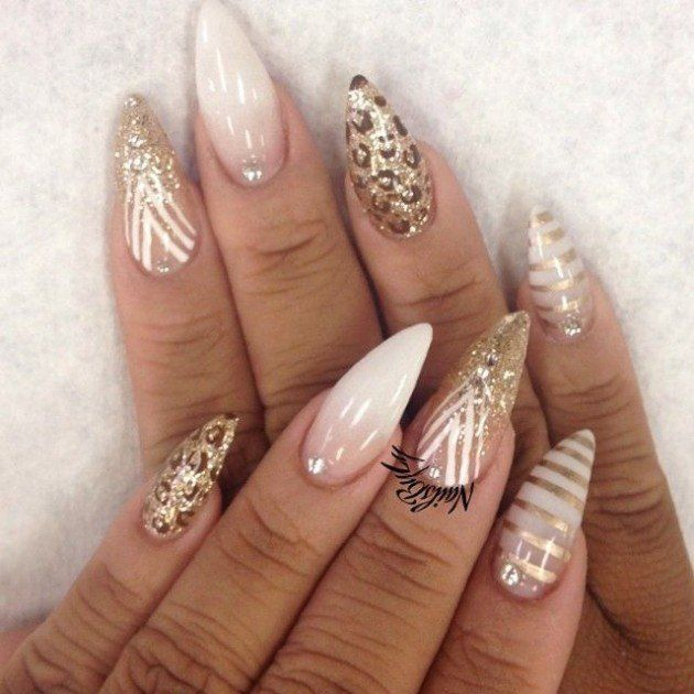 They are not like any other regular nails, and not all girls wear them.  Ladies, take a look at the Magnificent Stiletto Nail Designs That ... - 752 Best Stiletto Nails - Nail Trends - Nail Art Images On Pinterest