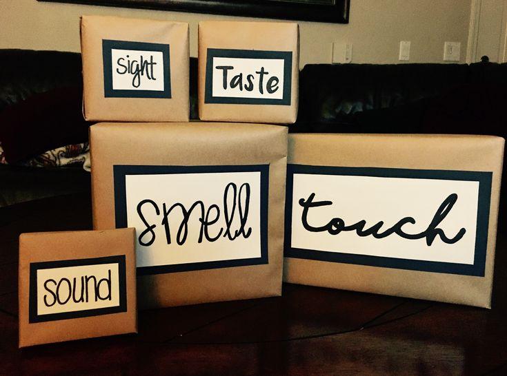 5 Senses Gift Pinteres