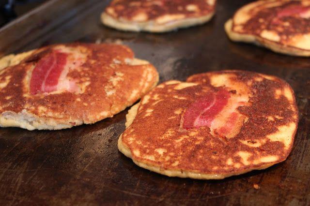 Paleo Bacon Pancakes #CupcakesOMG