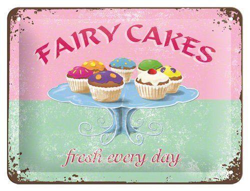 FAIRY CAKES Blechschild 20x 15 cm QUER PINK ROSA CUP CAKE CUPKAKES 26126 von SAB, http://www.amazon.de/dp/B00BJN97VA/ref=cm_sw_r_pi_dp_2nt1sb1VG9C4Z