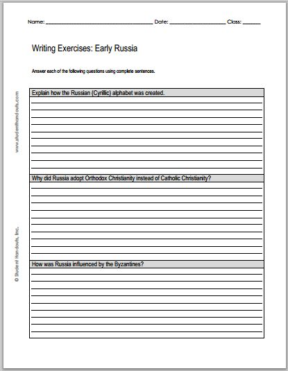 russia essay questions 2001-2-6  essay, term paper research paper on history: russia.