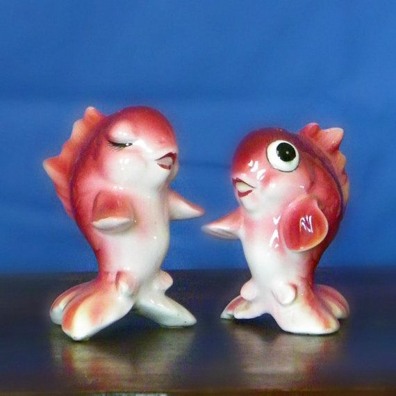 17 Best Images About Fish Salt And Pepper Shakers On