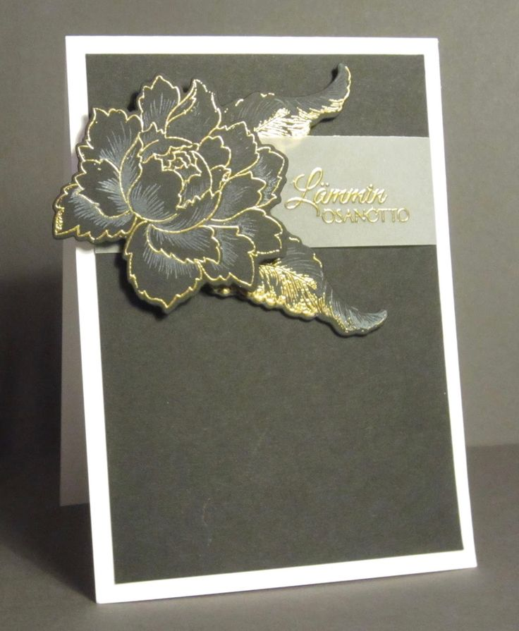 Card Making Ideas Sympathy Part - 25: I Unfortunately Needed A Sympathy Card For One Of My Former Colleagues Who