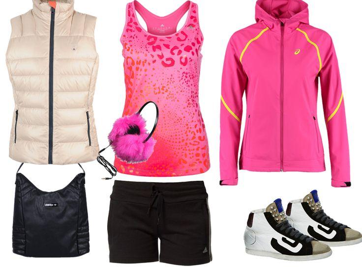 Sportwear : Pochette Adidas Originals noir, Tennis/basket Sus blanc et Chapeau Juicy Couture rose