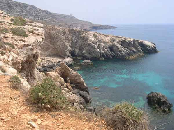 29 From Ghar Lapsi to wied iz-Zurrieq is a spectacular walk you will see a lot of caves so don't forget to have a good look around.