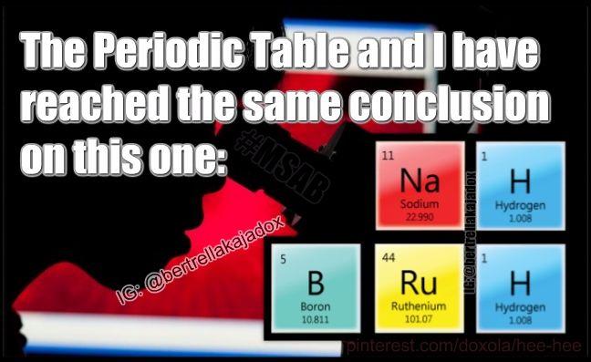 stoner periodic table stoner likes weed memes - Periodic Table Autism Meme