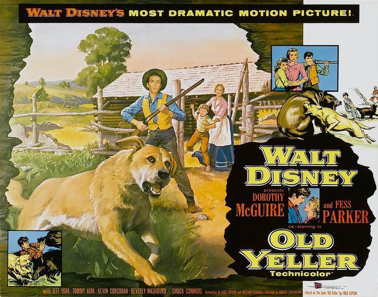 Fidèle Vagabond (Old Yeller) film américain de 1957) Robert Stevenson Walt Disney