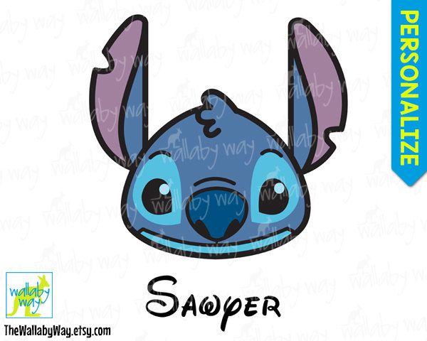 Stitch face Disney Lilo & Stitch Printable Iron On ...