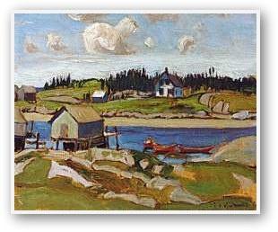 J.E.H. MacDonald  Nova Scotia Cove 1922