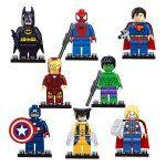 Hero Shape Building Block Educational Decoration Toy