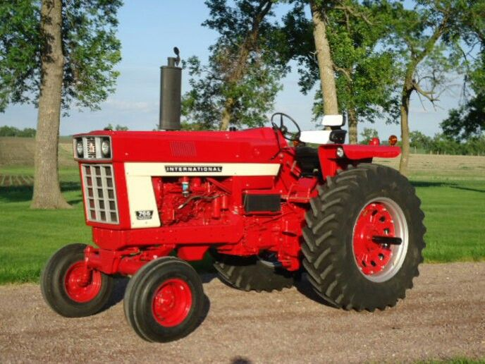 Ih Garden Tractors : International farmall pinterest