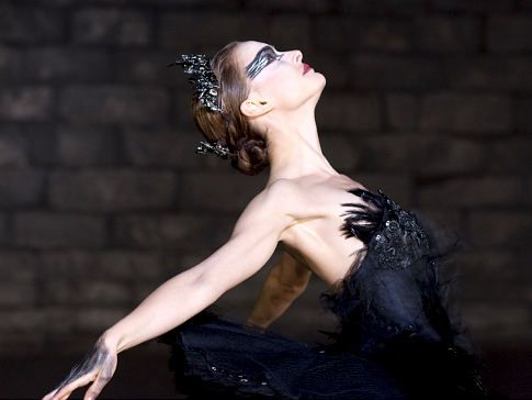 Natalie Portman as the Black Swan: Absolutely gorgeous and terrifying