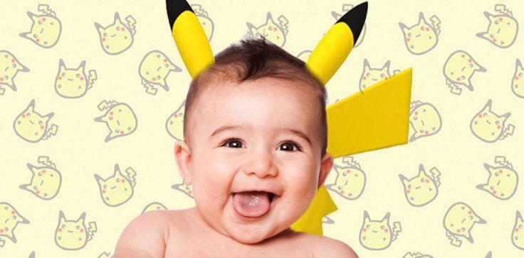 Nuova folle moda: neonati battezzati con i nomi dei Pokemon