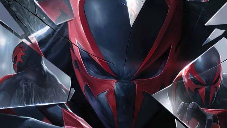 Spider-Man 2099.....#geeky #comicbooks #dccomics #marvelcomics #imagecomics #batgirl #batwoman #batman  # catwoman #superman #spiderwoman #punisher #spiderman #avengers #hulk #joker #harlyquinn #robin #deadpool #deathstroke #comics #wonderwoman #games #manga #anime #justiceleague #harryo_official