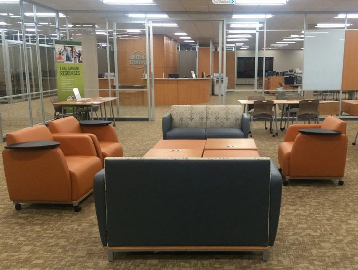 Baker College of Jackson (Jackson, MI) Swift lounge furniture in  collaborative/open