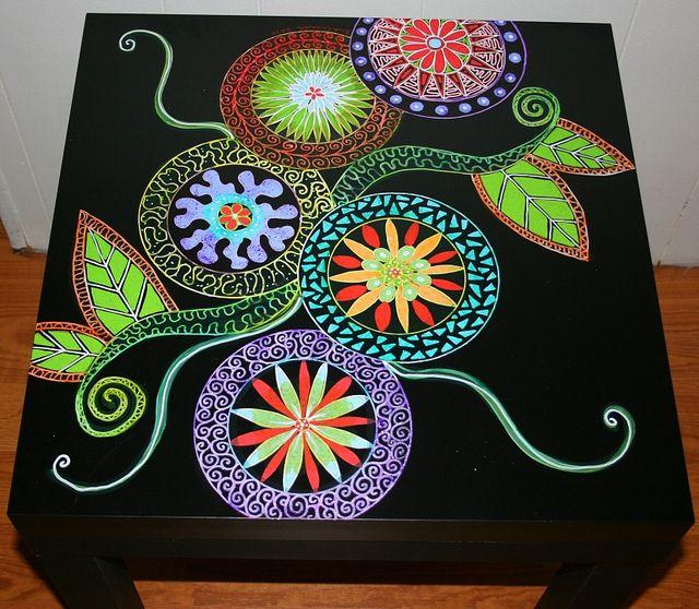 Malovaný nábytek z kreativního člověka jménem Rick Cheadle. Diskuse o normalizovaný obal; - ruské služby On-line deníky