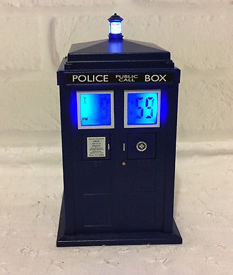 Doctor Who Tardis Projection Alarm Clock Whovian Works 2012